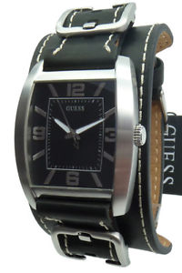 【送料無料】腕時計 ウォッチ アラームウォッチguess reloj relojes reloj hombre w0186g1 power up reloj de pulsera de cuero nuevo