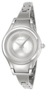 【送料無料】腕時計 ウォッチ シルバースフィアスチールベルトクォーツ23271 invicta 28mm mujer esfera plata correa de acero reloj de cuarzo