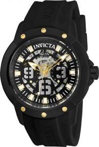【送料無料】腕時計 ウォッチ アートシリコンウォッチ2632 invicta 46mm hombres 06mobjet d arte negro reloj de silicona