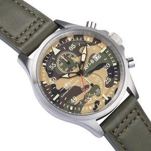 【送料無料】腕時計 ウォッチ クロノグラフカムフラージュカムフラージュクロノorologio uomo avi8,cronografo militare,aviator,mimetico,camouflage,chrono,299