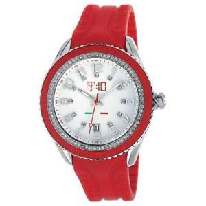 【送料無料】腕時計 ウォッチ シリコンロッソmaracuja orologio in silicone rosso , 3 sfere e strass t10c009r