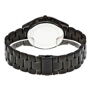 腕時計 ウォッチ ミハエルスリムレディステンレススチールクオーツブラックベルトmichael kors mk3589 slim runway reloj seora negros acero inoxidable cinturn cuarzo