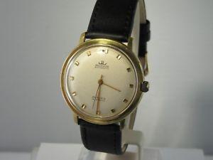 【送料無料】腕時計 ウォッチ ビンテージクロックレザーブレスレットj713 vintage blumus 25 rubis pulsera de cuero reloj hombre automtico
