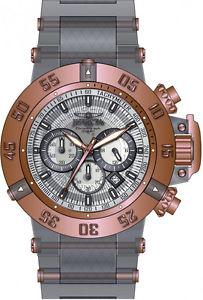 腕時計 ウォッチ クロノクォーツステンレススチールシリコンinvicta subaqua chrono cuarzo 200m acero inoxidablereloj de silicona 24370
