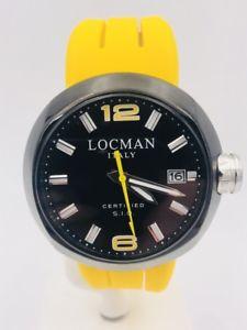 【送料無料】腕時計 ウォッチ ブレスレットウォッチスチールreloj locman 422yn pvd acero con 3 pulseras 46mm gran descuento nuevo