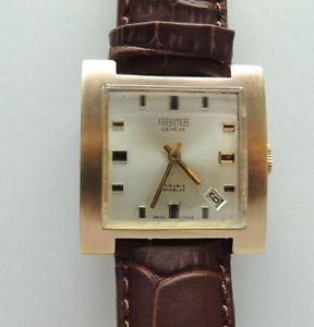 【送料無料】腕時計 ウォッチ ミラマージュネーブビンテージスクエアmiramargeneve vintage reloj pulsera cuadrada funcionan, rareza