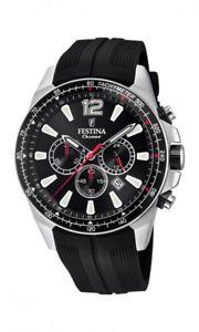 【送料無料】腕時計 ウォッチ アラームブラッククロノグラフreloj festina f203763 cronografo negro