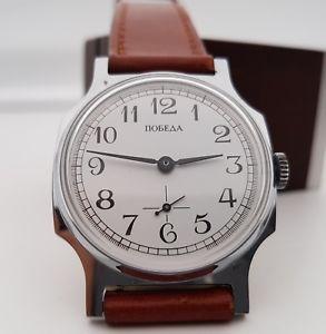 腕時計 ウォッチ orologio russo pobeda con garanzia datata 1992