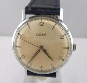 【送料無料】腕時計 ウォッチ ビンテージドクサブレスレットc900 vintage doxa kal 11,5103 funcionan pulsera de cuero