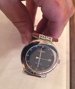 【送料無料】腕時計 ウォッチ ティソクォーツマルティニレーシングアラームtissot watch men quartz martini racing reloj