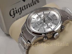 【送料無料】腕時計 ウォッチ アラームクロノグラフスイススチールクロノウォッチreloj crongrafo hombre gigandet suiza 1925 para hombres steel chrono watch