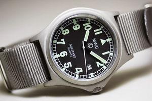 腕時計 ウォッチ クオーツバッテリーラッチベルトルミノバmwc g10bh  50m  cuarzo reloj militar  pestillo de la batera  luminova  correa opta