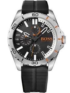 【送料無料】腕時計 ウォッチ ヒューゴボスオレンジベルリン¥クロックブラックシリコンベルトhugo boss orange berlin correa de silicona negra para hombre reloj 1513290 pvp 139