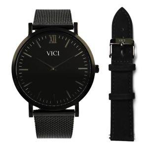 【送料無料】腕時計 ウォッチ ニューヨークバレンタインvici reloj negro de nueva york