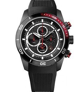 【送料無料】腕時計 ウォッチ ステンレススチールアラームクロックブラックシリコンストラップヒューゴボスhugo boss para hombre hb1512661 caja de acero inoxidable reloj alarma correa de silico