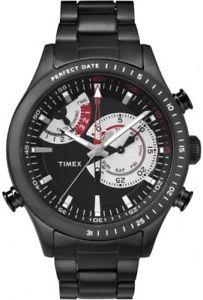 【送料無料】腕時計 ウォッチ インテリジェントクオーツアラームクロノグラフtimex intelligent quartz tw2p72800 reloj hombre crongrafo