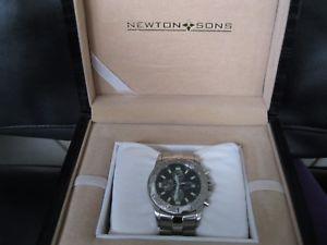 腕時計 ウォッチ ニュートンクロノグラフスタイリッシュバッテリーブレスレットローズton amp; sons seores reloj pulsera de metal pulsera con batera chronograph stylish