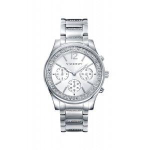 【送料無料】腕時計 ウォッチ スチールマルチファンクションブレスレットviceroy multifuncion acero brazalete sra