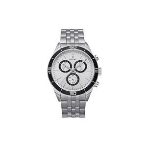 【送料無料】腕時計 ウォッチ クロノグラフorologio festina cronografo uomo in acciaio ref f167621