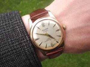 【送料無料】腕時計 ウォッチ ビンテージアラームvintage allaine automtico felsa 1560 reloj c1950s