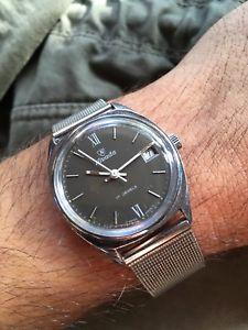 【送料無料】腕時計 ウォッチ マニュアルアラーム1970s reloj para hombres nivada manual fe 1401 c