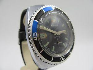 腕時計 ウォッチ ビンテージダイバーアラームクロックダイビングl154 vintage konnexa diver mano reloj de pulsera reloj buceo reloj