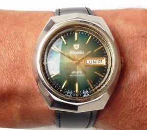 【送料無料】腕時計 ウォッチ ナイツアラームサービスcaballeros 1970s ss nivada automtico da fecha reloj como garanta de servicio de 2066 6m