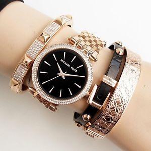 【送料無料】腕時計 ウォッチ オリジナルステンレススチールカラーローズゴールドoriginal michael kors reloj fantastico mk3402 darci acero inoxidable color rose oro nuevo