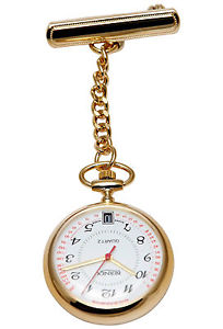 腕時計 ウォッチ スイスアラームbernex gb31101 hecho en suiza reloj fob enfermeras placa de oro con fecha