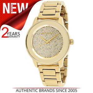 【送料無料】腕時計 ウォッチ ミハエルステンレススチールmichael kors mujer kinley color dorado pav acero inoxidable reloj de diseo