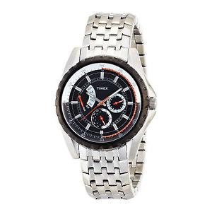 【送料無料】腕時計 ウォッチ ウォッチマンステンレススティールブレスレットtimex de postconsumo reloj hombre t2m430 acero inoxidable pulsera, esfera blanco y negro