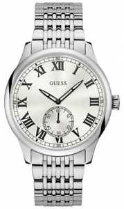 【送料無料】腕時計 ウォッチ ケンブリッジメンズシルバーアナログguess cambridge mens vestido analgico plata w1078g1 relojes 15