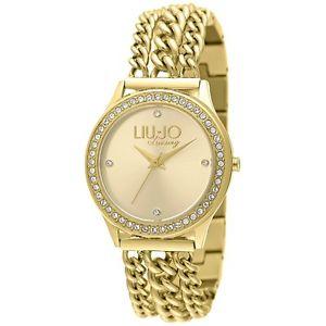 腕時計 ウォッチ ダドナリュジョラグジュアリーアテネorologio bracciale da donna liu jo luxury collezione atena tlj934 dorato