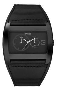 【送料無料】腕時計 ウォッチ アラームマルチファンクションアナログguess reloj hombre w12105g1 analogico multifuncin cuero negro