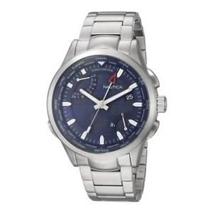 【送料無料】腕時計 ウォッチ アラームクォーツnautica napshg003 reloj cuarzo para hombre