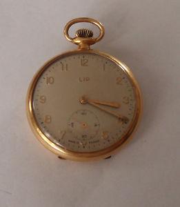 【送料無料】腕時計 ウォッチ ゴールドリップリップフランスvieja reloj de bolsillo lip dorado france montre lip gousset