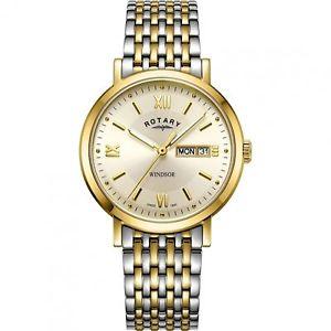 【送料無料】腕時計 ウォッチ ロータリートーンウィンザーrotary gb0530109 windsor reloj de pulsera de dos tonos