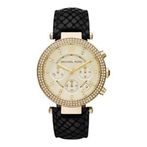 腕時計 ウォッチ レディースゴールドミハエルパーカーnuevas damas de oro y michael kors mk2316 negro reloj parker  2 ao de garanta