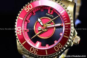 腕時計 ウォッチ コミックフラッシュバリーアレングランドダイバールinvicta hombres 47mm dc comics flash barry allens grand diver le auto ss