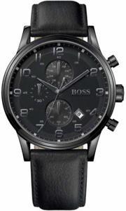 【送料無料】腕時計 ウォッチ ヒューゴボスブラックnuevo hugo boss 1512567 para hombre negro reloj aeroliner 2 ao de garanta