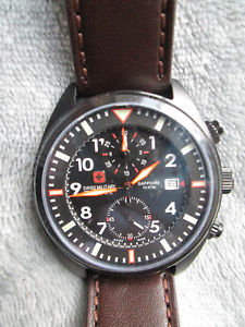 【送料無料】腕時計 ウォッチ スイスクロノグラフswiss military hanowa saphire crongrafo nuevo