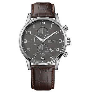 【送料無料】腕時計 ウォッチ ブランドヒューゴボスnuevo reloj para hombres aeroliner hugo boss 1512570 2 aos de garanta