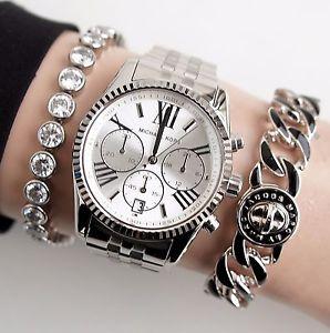 【送料無料】腕時計 ウォッチ レキシントンウォッチカラーシルバーoriginal michael kors reloj mujer mk5555 lexington color plata nuevo