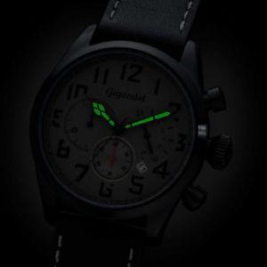 腕時計 ウォッチ アラームクロノグラフスイススチールクロノウォッチreloj crongrafo hombre gigandet suiza 1925 de los steel chrono watch nib