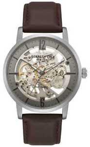 【送料無料】腕時計 ウォッチ ケネスマンアラームスケルトンkenneth cole reloj esqueleto para hombre con kc50054001 relojes 11