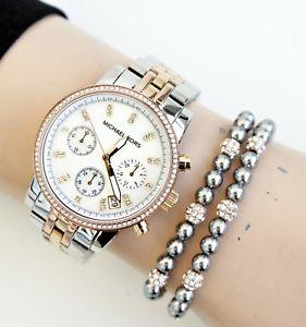 【送料無料】腕時計 ウォッチ リッツウォッチガラスoriginal michael kors reloj mujer mk5650 ritz tricolor cristal nuevo