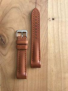 【送料無料】腕時計 ウォッチ フォルティスブラウンレザーブレスレットfortis b42 y f43 pulsera de cuero marrn, 20mm, nuevo, art n 991013840010