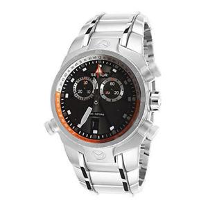 【送料無料】腕時計 ウォッチ アラームクロノグラフステンレススチールブレスレットシルバーアラームsector r3273999022 reloj hombre crongrafo acero inoxidable reloj de pulsera plata fecha d