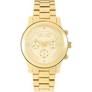 【送料無料】腕時計 ウォッチ ラグジュアリーリュジョドナゴールドクロノorologio donna liu jo luxury steeler tlj442 bracciale acciaio gold chrono