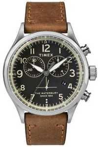 【送料無料】腕時計 ウォッチ アラームクロノグラフスチールtimex reloj crongrafo tradicional de acero twf3c8230uk relojes 11